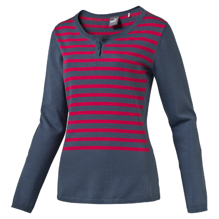 puma damen pullover scoopneck neue collection von puma golf. Black Bedroom Furniture Sets. Home Design Ideas