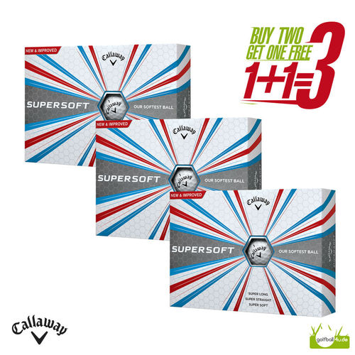 Callaway Supersoft 1+1=3 Aktion