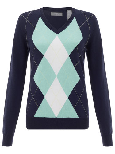 Callaway Damen Pullover Fashion Argyle