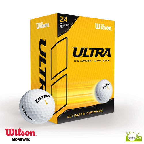 Wilson Ultra Golfbälle 24er Big Box