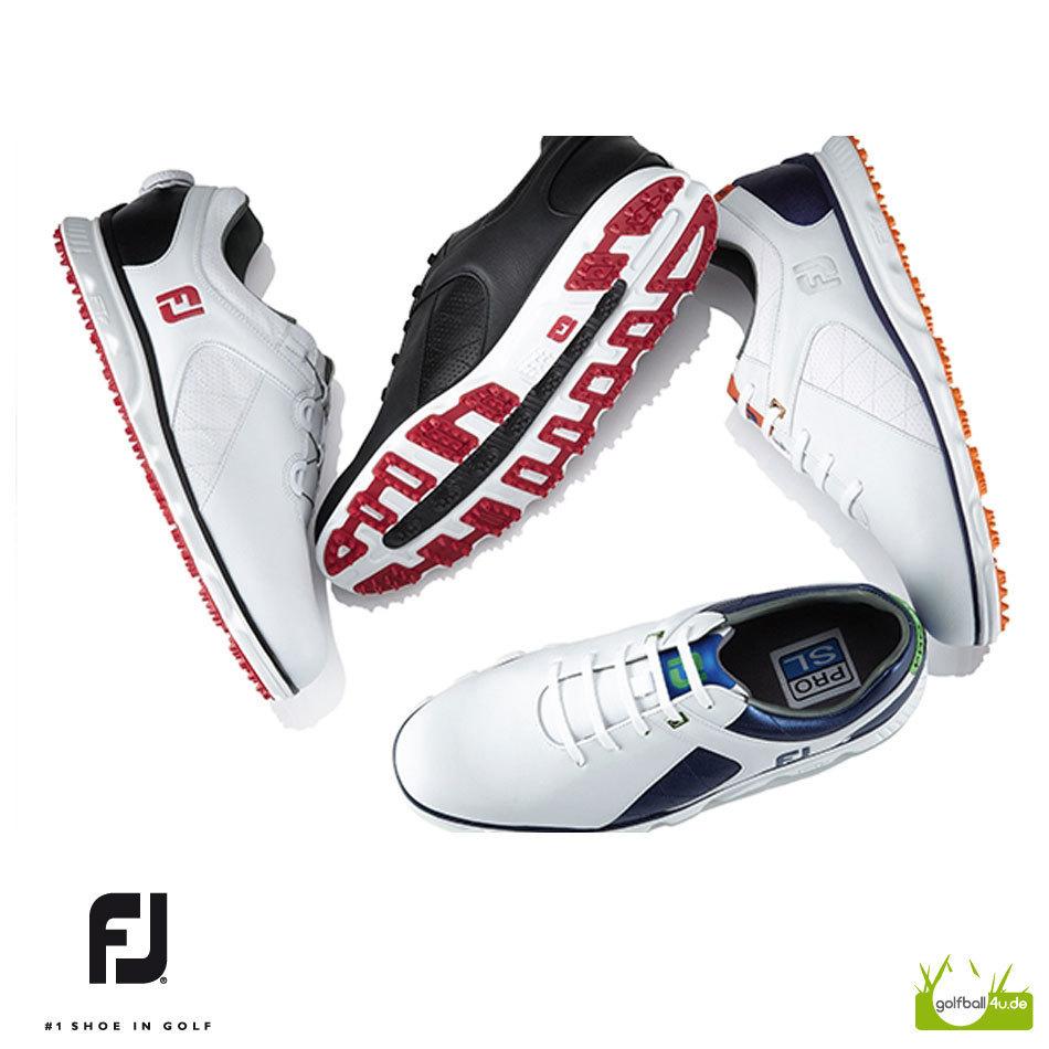 Sonderverkäufe neu authentisch Tiefstpreis FOOTJOY Pro SL   sportlicher Herren Golfschuh im FJ Sneaker ...
