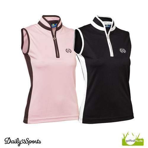 DAILY Sports Damen Polo ohne Arm Marge SL