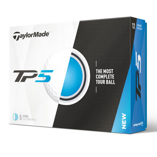 TaylorMade TP5 Golfball ´17