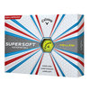 Callaway Supersoft Golfball ´17 gelb