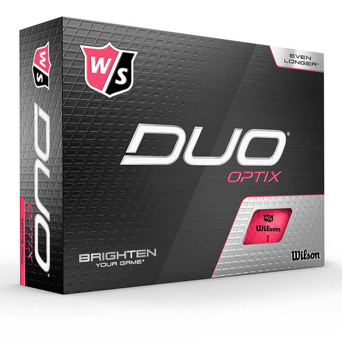 Wilson Staff DUO Optix Golfball Pink