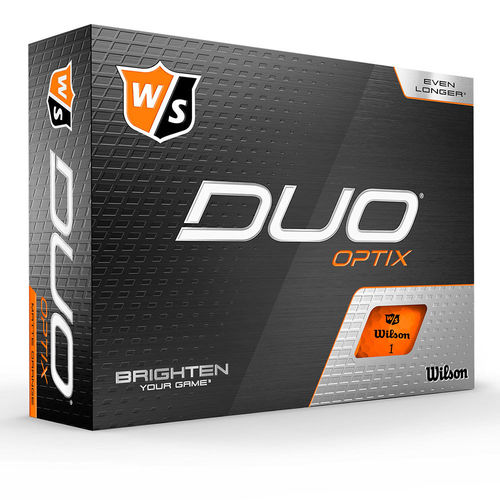 Wilson Staff DUO Optix Golfball Orange